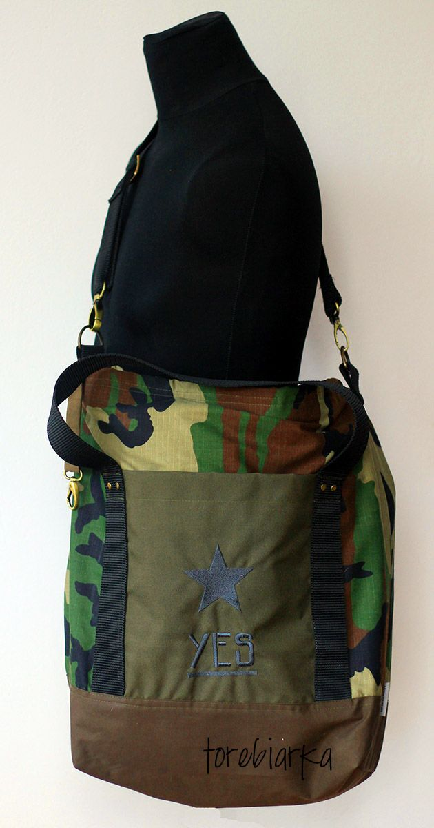 exeptionel military bag for exeptionel woman