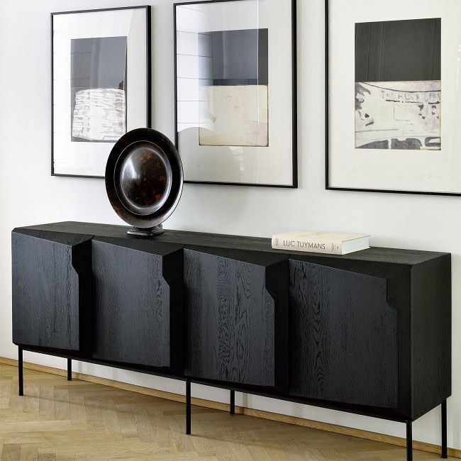 New Stairs Sideboard An Angular Composition Designed By