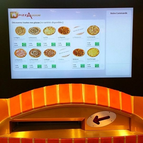 New touchscreens for pizza vending machines - Retail Design World