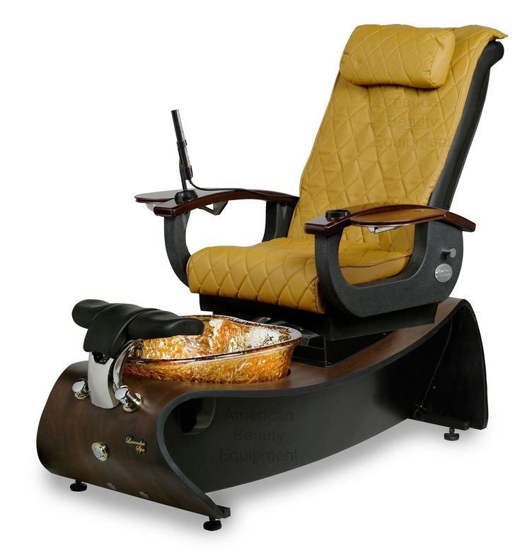 Show details for Lavender 3 Pipeless Pedicure Spa With Glass Bowl Magnetic Jet and Shiatsu Massage Chair Top #ShiatsuMassage