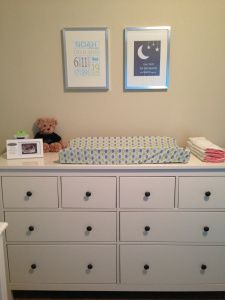 Nursery Dresser Ikea Changingtable