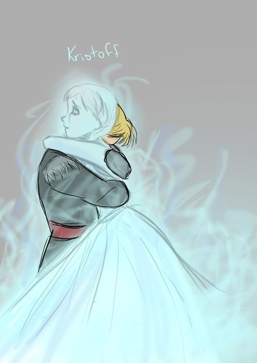If Anna had run to Kristoff… though he DID love her, and she loved him, so he probably could have saved her as well