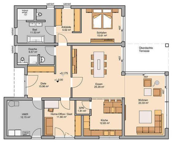 Bungalow Select | Bauhaus auf einer Ebene