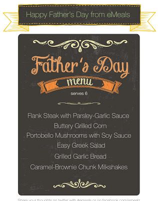 father's day meals ideas