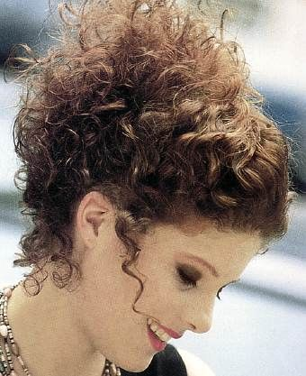 10 best images about Curly Hair Updos on Pinterest