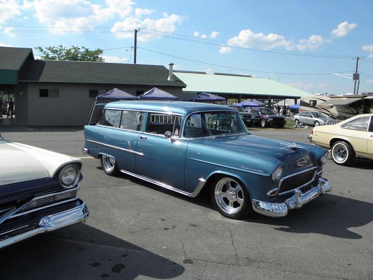 Car Shows Photos: 55 Chevy Wagon