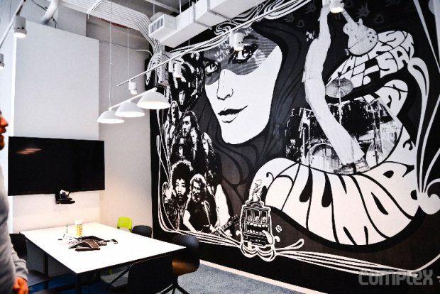 Spotify embauche des street-artists pour la déco de ses bureaux à NYCIl etait une pub – Le blog d'actualite publicitaire