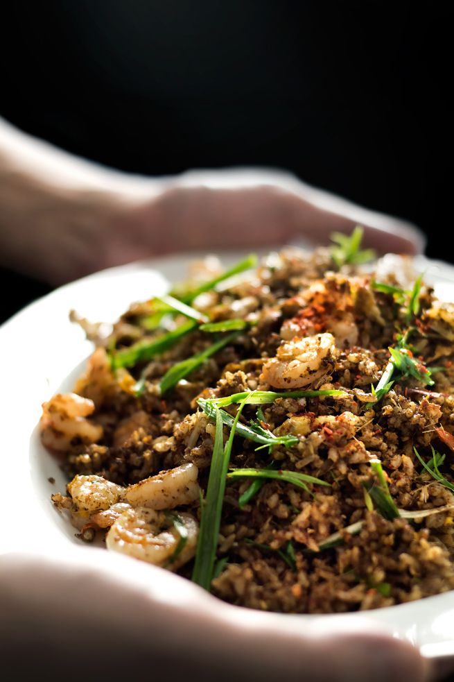 Thai dirty fried rice - recipe from Lady & Pups
