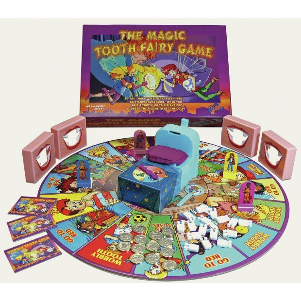 Buy The Magic Tooth Fairy Board Game at Argos.co.uk - Your Online Shop for Games and board games, Games and puzzles, Toys.