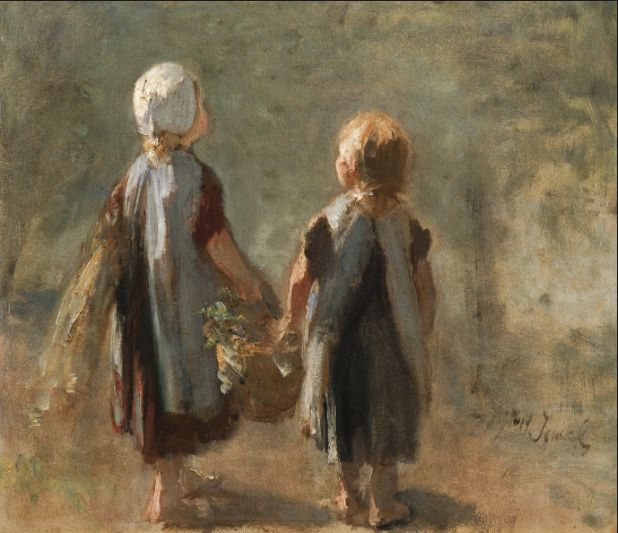 Jozef Israels - The Hague 1824-1911