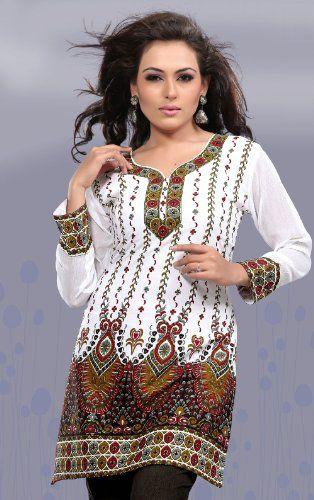 Lastest Indian Bollywood Kurta Kurti Designer Women Ethnic Dress Top Tunic