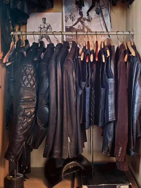 Tom of Finland's House: Leather Gear. #TomOfFinland #ToF