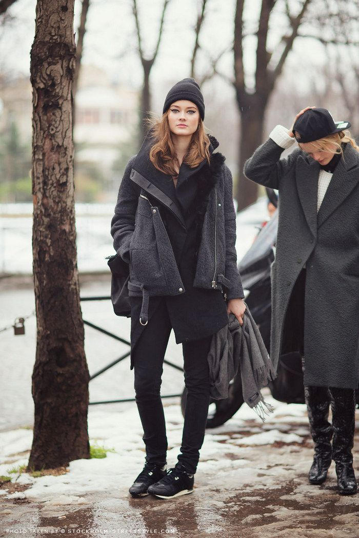 Winter layers, by StockholmStreetStyle