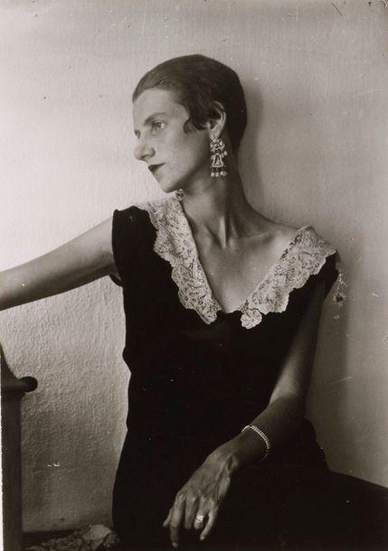 Berenice Abbott - Peggy Guggenheim, 1926
