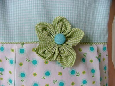 Fabric Flower Tutorial...