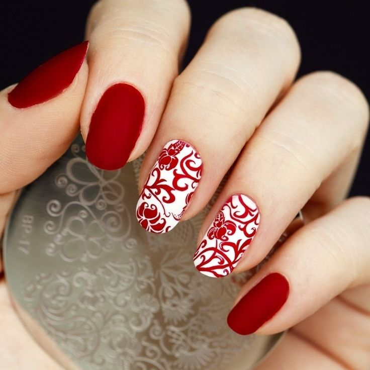 89 Most Fabulous Valentine's Day Nail Art Designs - What do you think of giving your hands a romantic look on Valentine's Day? The easiest way to get catchy hands and make them more gorgeous is to chang... -  valentines day nails (64) ~♥~ ...SEE More :└▶ └▶ http://www.pouted.com/89-most-fabulous-valentines-day-nail-art-designs/