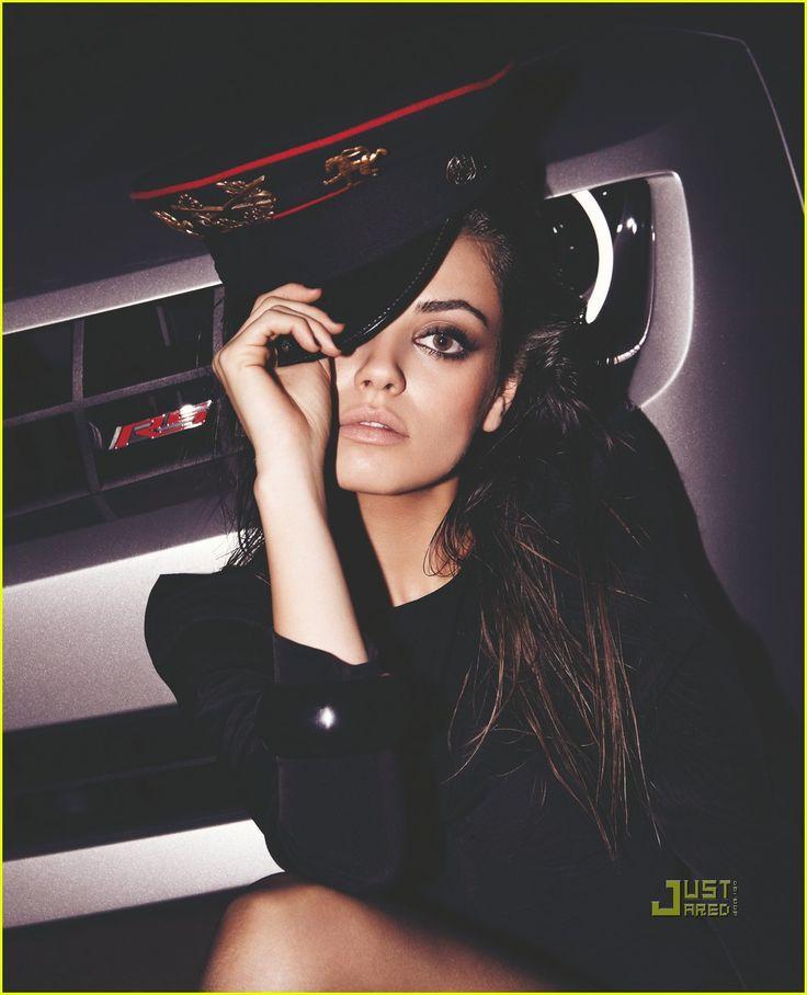Mila Kunis BlackBook 2009