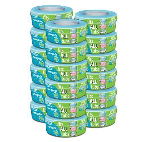 Tommee Tippee - Rotoli di sacchetti per contenitore igienico per pannolini Sangenic, 18 pezzi di Tommee Tippee, http://www.amazon.it/dp/B00GX2UWEI/ref=cm_sw_r_pi_dp_exHFtb1CX1GV6CC