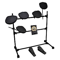 Digital Drum Set, Electronic Drum Machine System (5-Pad Drum Kit)