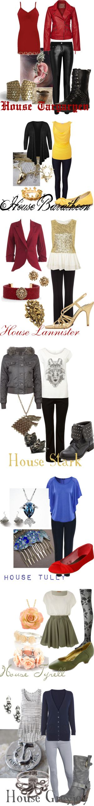 """Game of Thrones"" by ashley-jo-verity on Polyvore"