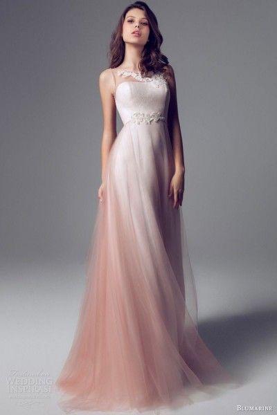 mariage rose gris robe de mariée poudré blush blumarine Carnet d'inspiration mariage Mademoiselle Cereza