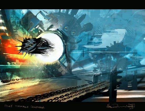 Alex Drummond recreate's Peter F Hamilton's Prime Wormhole Generator www.edge-of-twilight.com