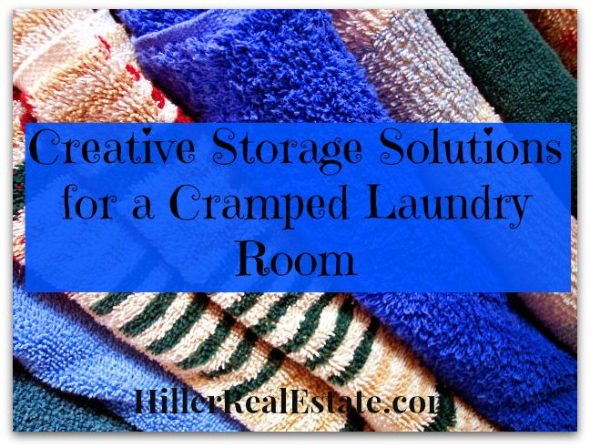 Turn a zero to a hero with these Creative Storage Solutions for Cramped Laundry Rooms.