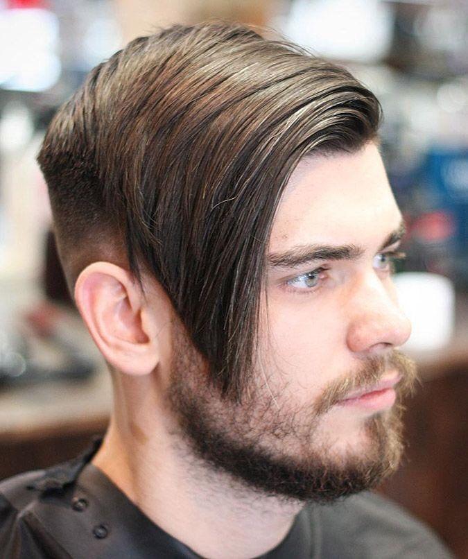 Long Hair Undercut For Male Undercut Hairstyles Long Hair Styles Men Fringe Haircut