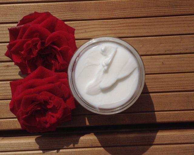 Růžový pleťový krém