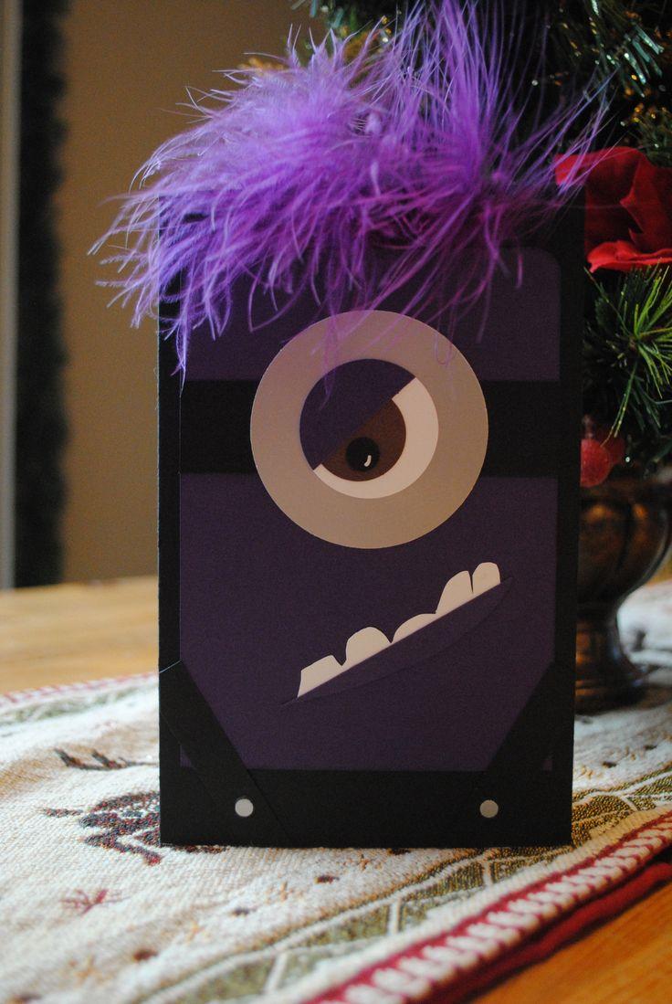 Evil Minion Card!