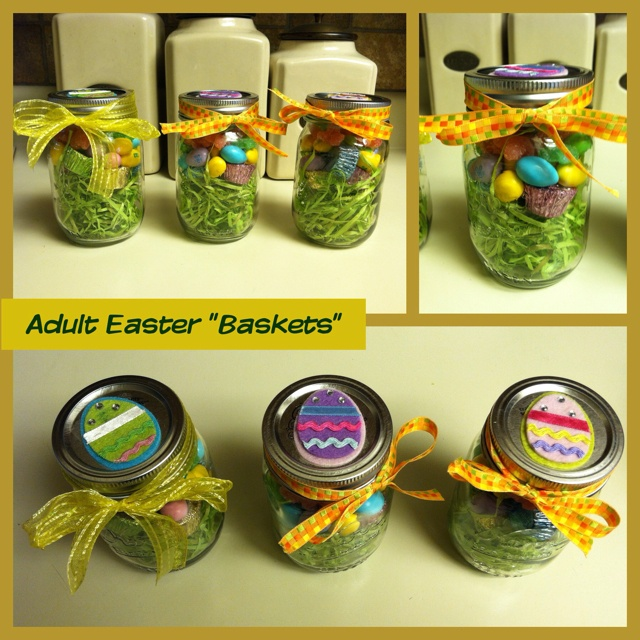 Adult Easter Baskets Holiday Gift Ideas Pinterest