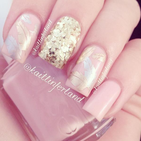 142 Best Pink Nail Designs Images On Pinterest
