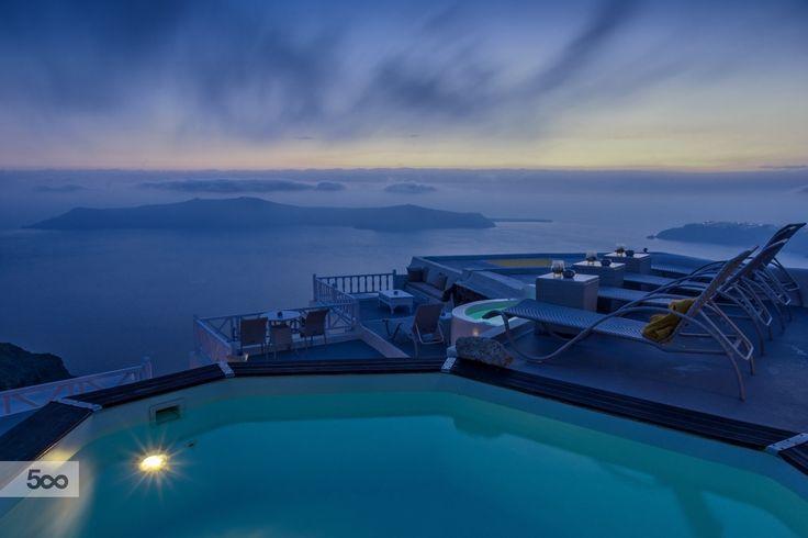 Caldera view in Santorini by Nicolas Mitkanis on 500px