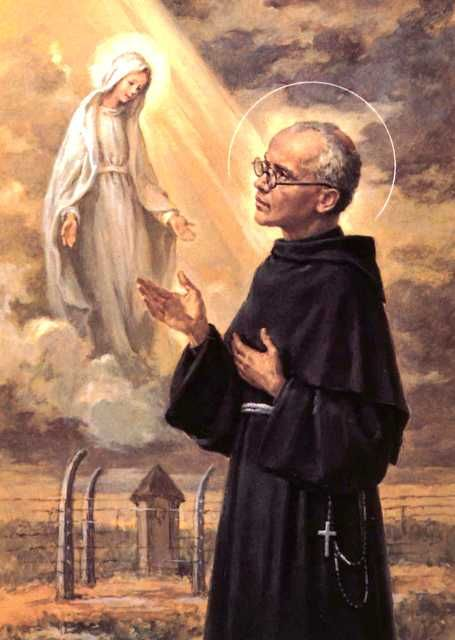 Our Morning Offering – August 14 #pinterest #stmaximilliankolbe Almighty and Eternal God, You gave us in the person of St. Maximilian an example of true devotion to the Immaculate Mother of our Saviour and of unselfish love for our neighbour........
