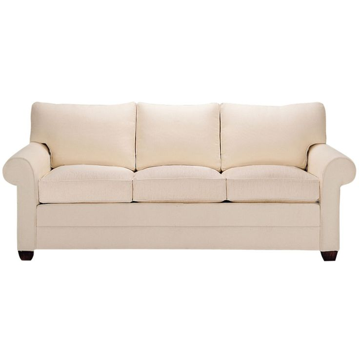Bennett Three-Cushion Roll-Arm Queen Sleeper - Ethan Allen US