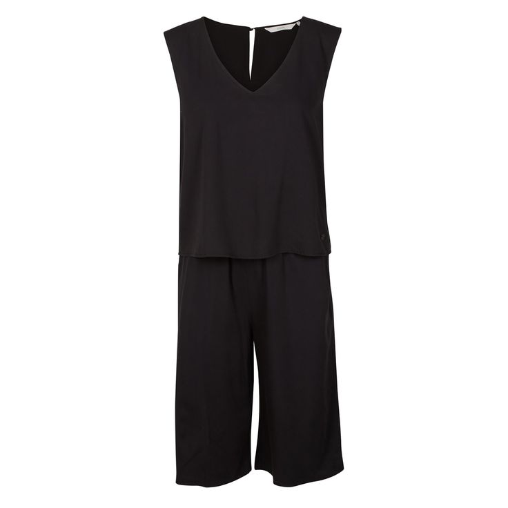 ADELAIDE combi by Nümph. Spring-Summer fashion. Black combi outfit.   Forevermlle.com online store