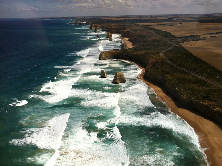 12 Apostles from the sky - Great Ocean Road, Victoria