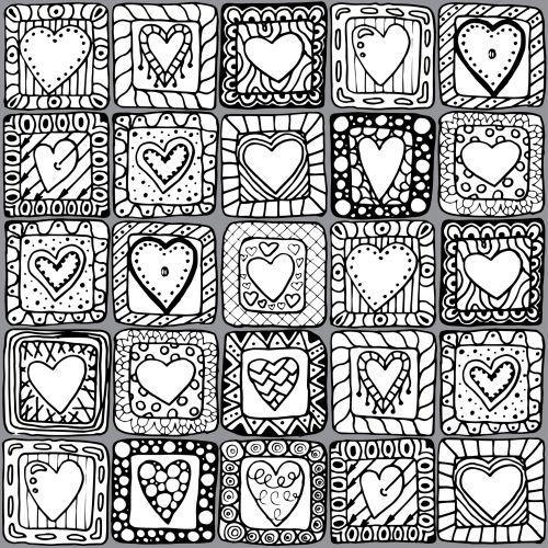 Doodle Black and White 7 - KidsPressMagazine.com