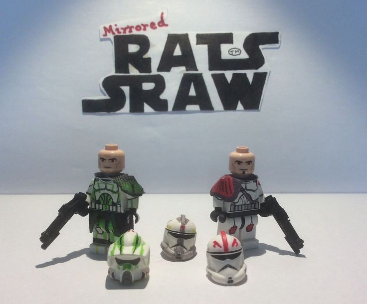Lego Star Wars minifigures - Clone Custom Troopers Private Listing for WH1SKEY7