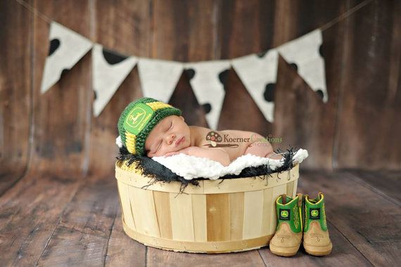Newborn Photography Prop Layering Set // Farm by nhayesdesigns