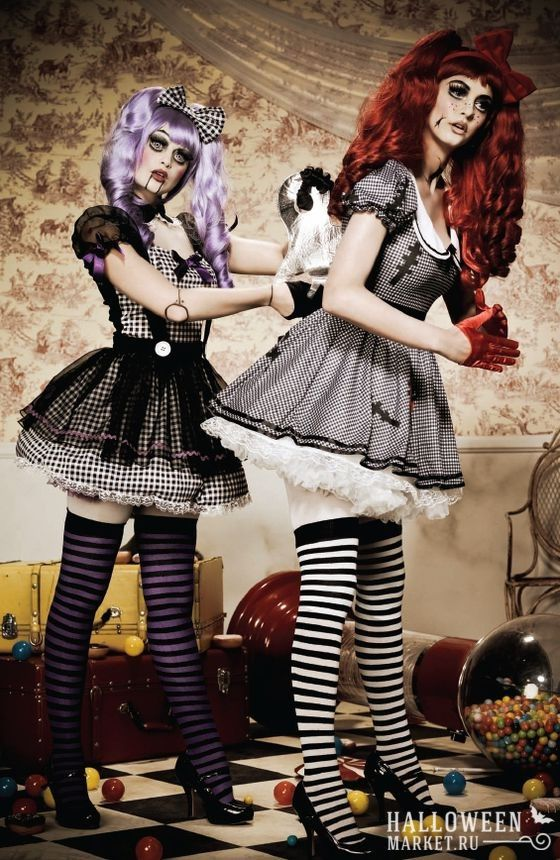 Doll Makeup & Costume