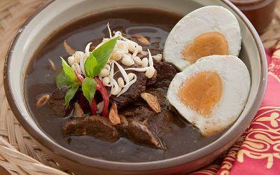 Rawon | Hidangan Nusantara | Hidangan Nusantara Favorit | Hidangan Nusantara Terpopuler