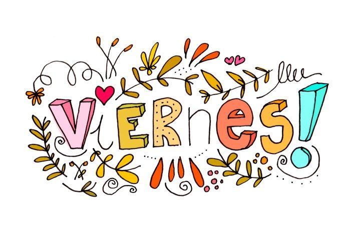 https://flic.kr/p/Zdg4Df | Viernes de otoño by Elena Losada | Viernes! #lettering #illustration #viernes