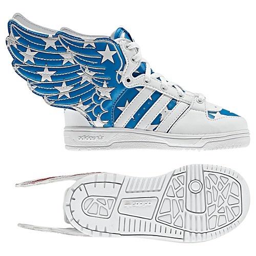 Adidas Originals Jeremy Scott American flag Wings 2.0 $220