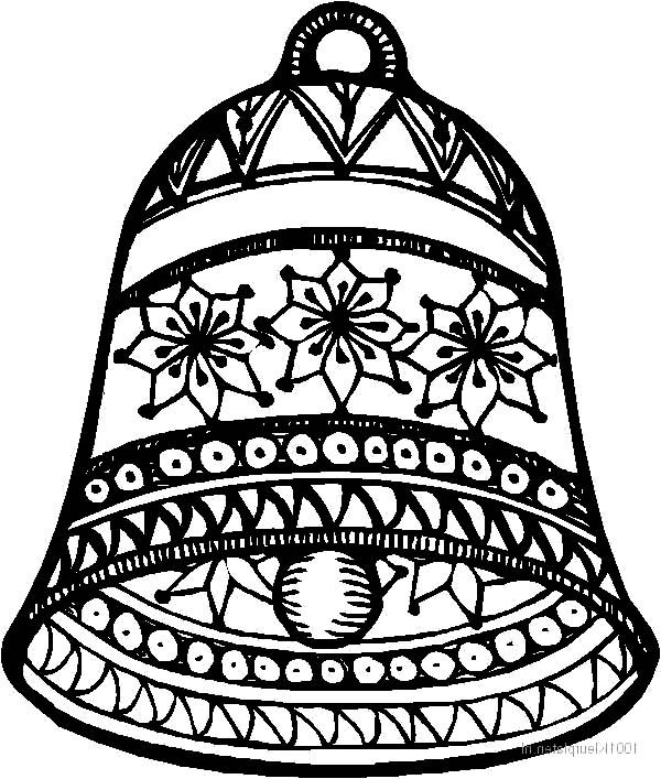 178 best Coloring: Bells images on Pinterest | Coloring books ...