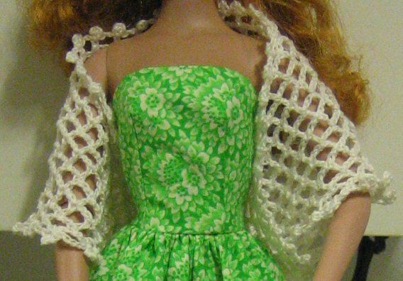 Free crochet pattern for Tyler Wentworth shawl: Clothing Patterns, Dolls Clothing, Barbie Clothing, Barbie Dolls, Crochet Patterns, Free Patterns, Dolls Shawl, Dolls Barbie, Dolls Patterns
