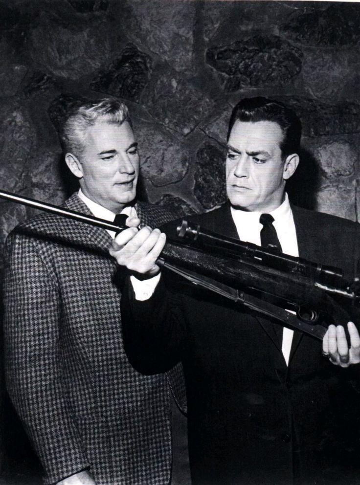 Paul Drake and Perry Mason