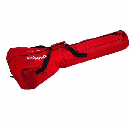 Eskimo 69812 Power Ice Auger Carrying Bag to protects your ice auger engine from snow, rain, slush and other debris