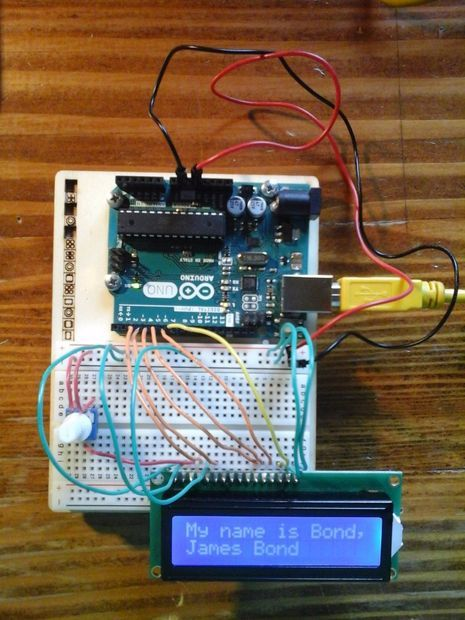 Picture of How to use an LCD - Arduino