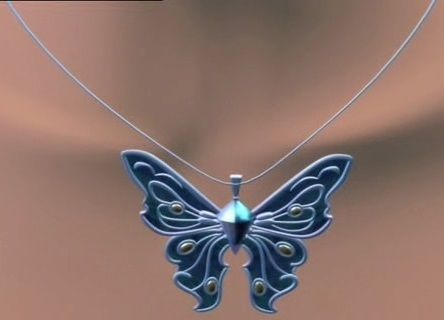Azura''s Guardian Necklace from Barbie Fairytopia